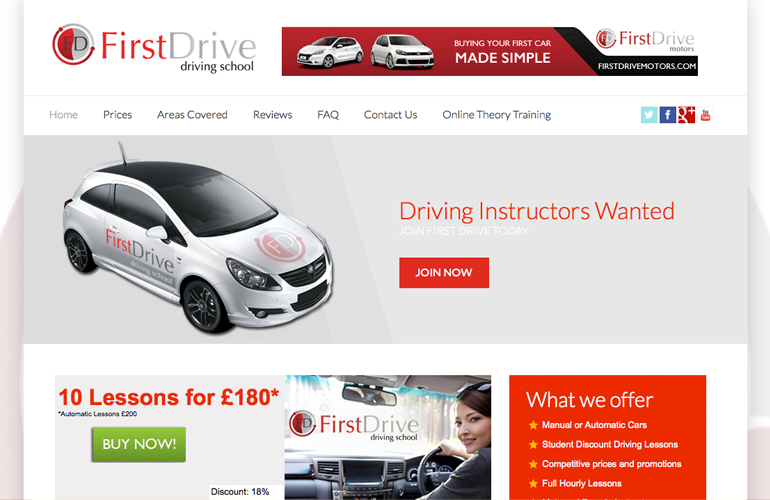 First Drive Driving School